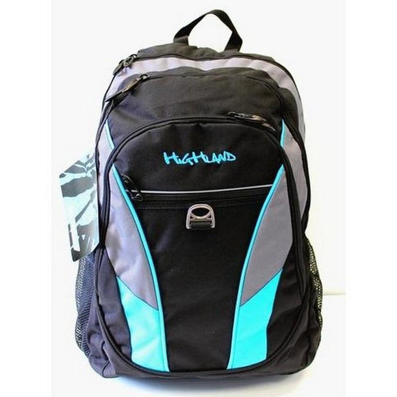 Highland Neon Backpack Tech  Black / Blue