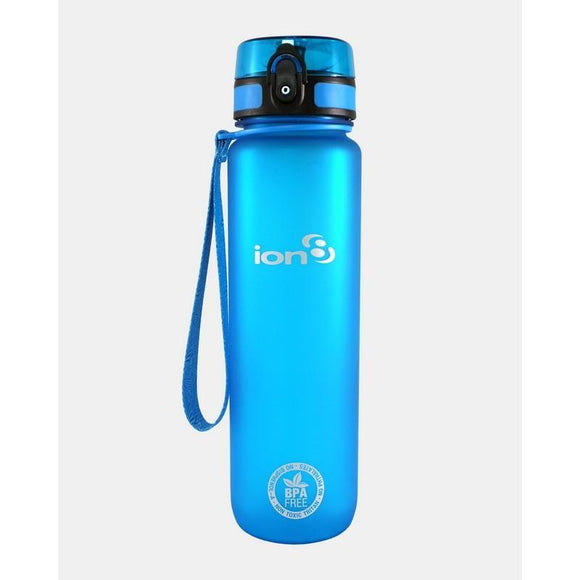 Ion8 Quench 1 Litre Water Bottle Blue