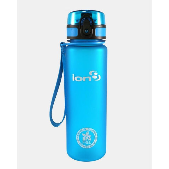 Ion8 Slim 500ml Water Bottle - Blue