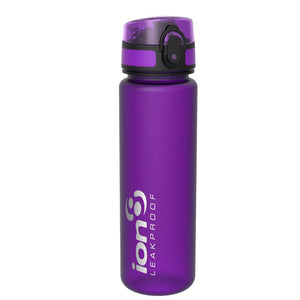 Ion8 Slim 500ml Water Bottle - Purple