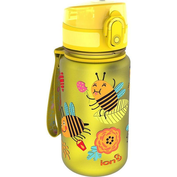 Ion8 Pod 350ml Water Bottle - Bees (Yellow)