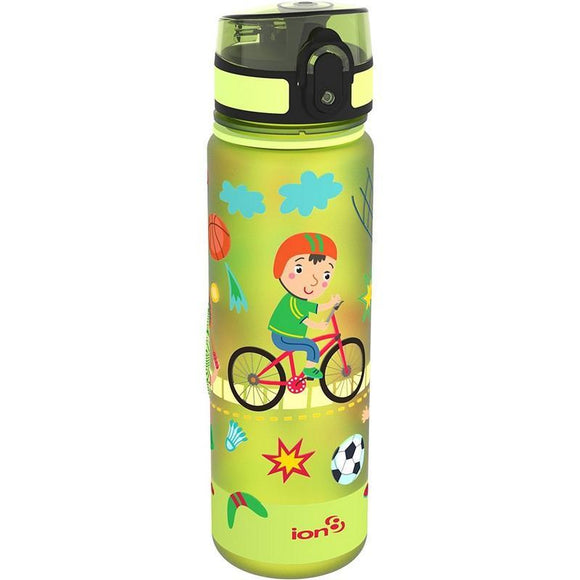 Ion8 Slim 500ml Water Bottle - Sports (Green)