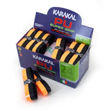 Karakal PU Super Grip Duo Black Orange