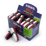 Karakal PU Super Grip Duo Maroon White