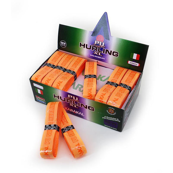 Karakal PU Super Grip Hurling XL Orange