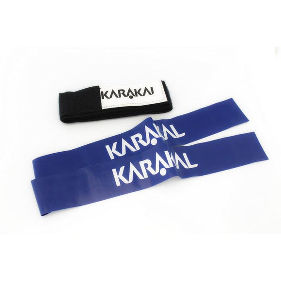 Karakal Tag Rugby Belt & 2 Blue Tags