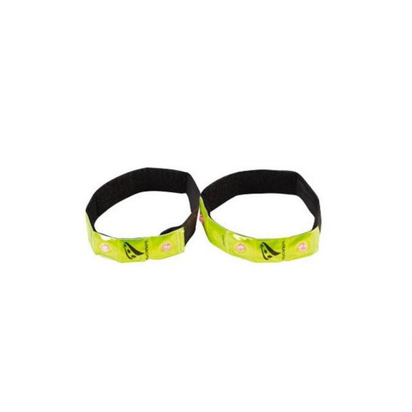 Rucanor Reflective Flashing Armbands Running Accessory