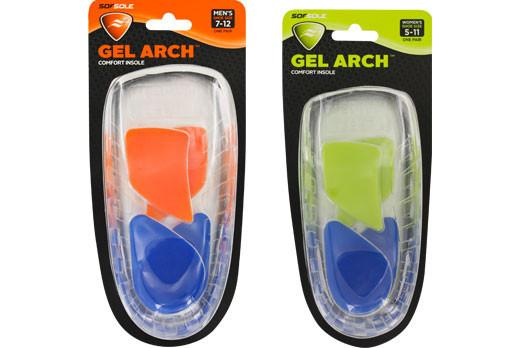 Sof Sole Gel Arch Support - Mens (Clearance)