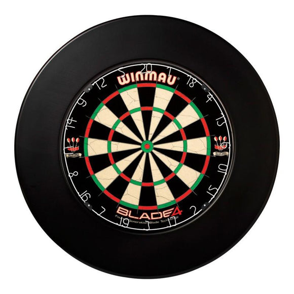 Winmau Dartboard Surround - Plain Black
