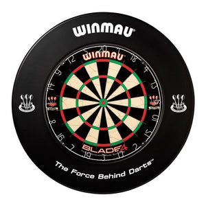 Winmau Dartboard Surround - Printed Black