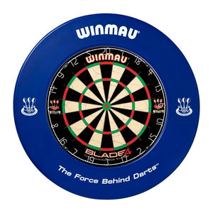 Winmau Dartboard Surround - Printed Blue