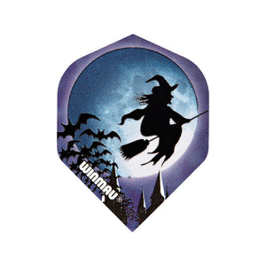Winmau Witch on a Broomstick  Mega Standard Dart Flights