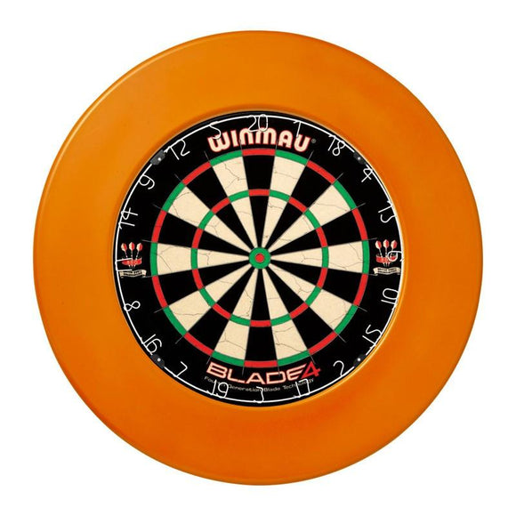 Winmau Dartboard Surround - Plain Orange