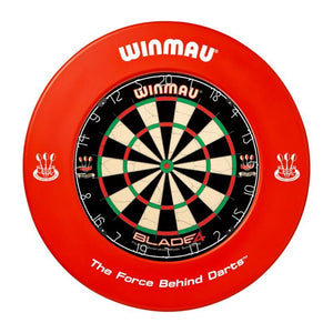 Winmau Dartboard Surround - Printed Red