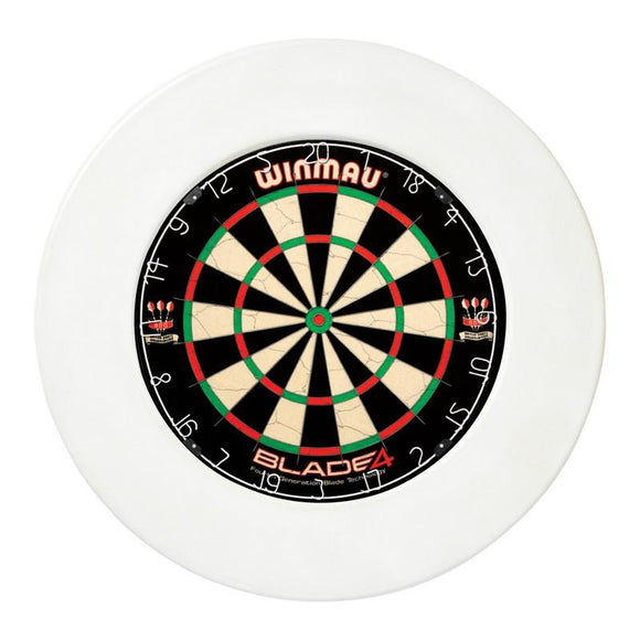 Winmau Dartboard Surround - Plain White