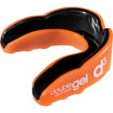 d3 Adult Double Gel Mouthguard Orange Black x 6