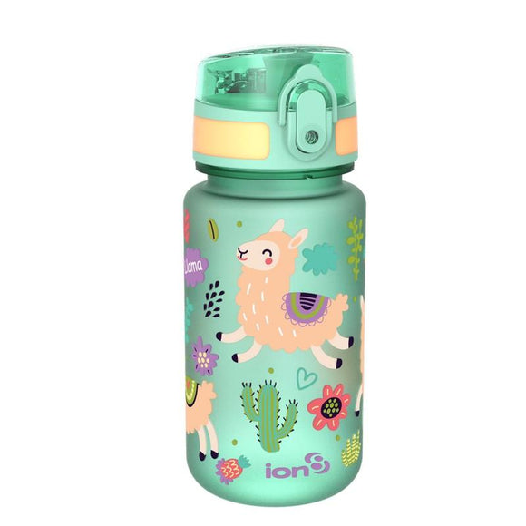 Ion8 Pod 350ml Water Bottle - Llamas