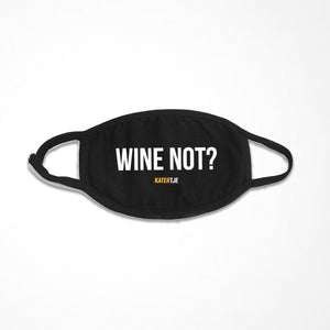 Wine not? | Mondkapje