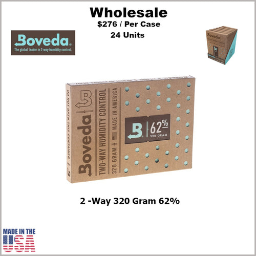 Humidity Pack- 320 Gram Size Boveda 62% RH (24 Units)