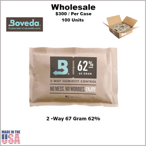 Humidity Pack- 67 Gram Size Boveda 62% RH (100 Units)