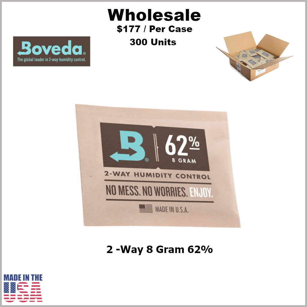 Humidity Pack- 8 Gram Size Boveda 62% RH (300 Units)
