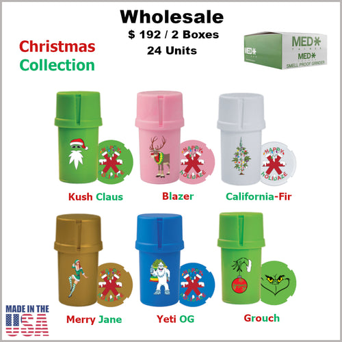 Medtainers Premium- Christmas Collection (24 Units) *Special Promo*