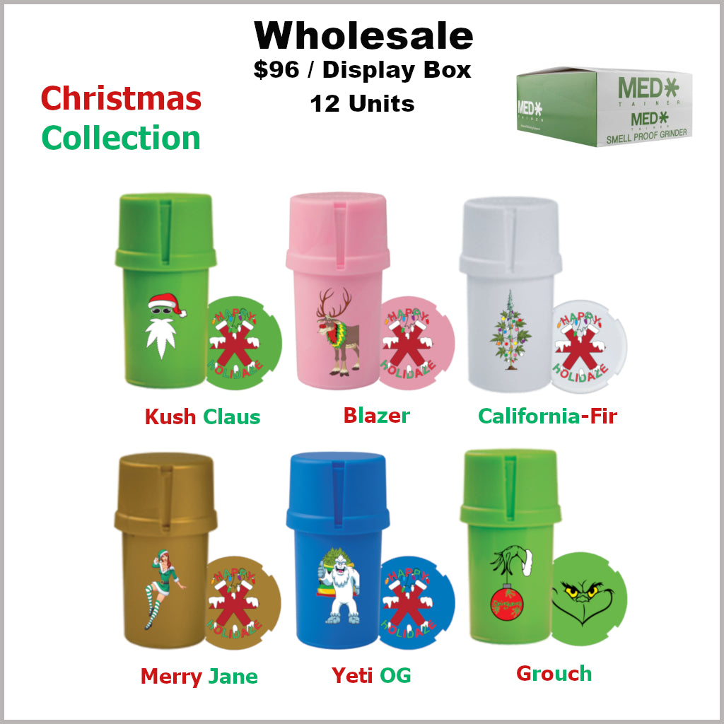 Medtainers Premium- Christmas Collection (12 Units)