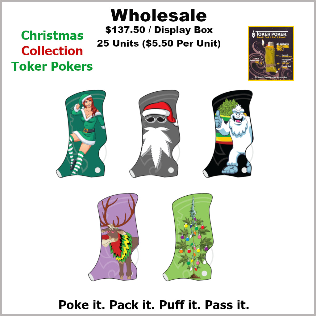Toker Pokers- Christmas Collection (25 Units)