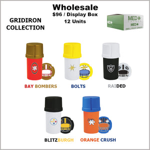 Medtainers Premium- Gridiron Collection (12 Units)