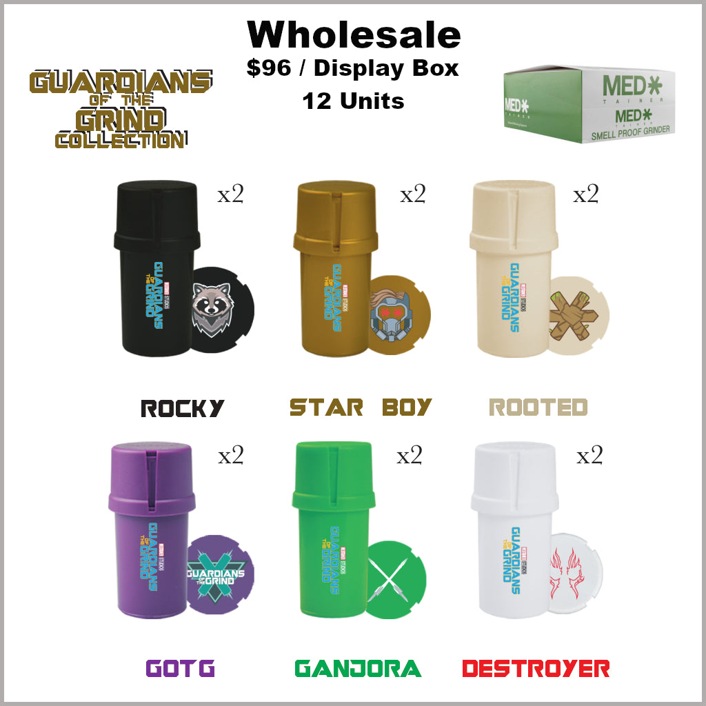 Medtainers Premium- Guardians of the Grind Collection (12 Units)