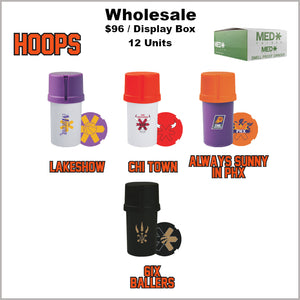 Medtainers Premium- Hoops Collection (12 Units)