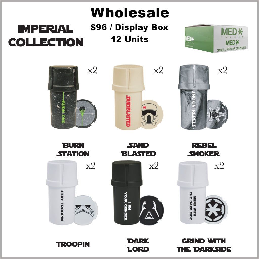 Medtainers Premium- Imperial Collection (12 Units)