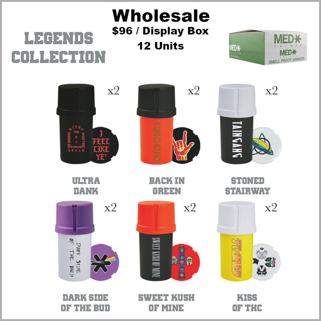 Medtainers Premium- Legends Collection (12 Units)
