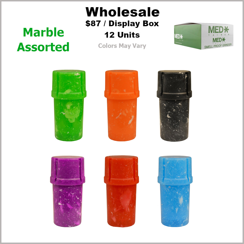 Medtainers- Marble Assorted  (12 Units)