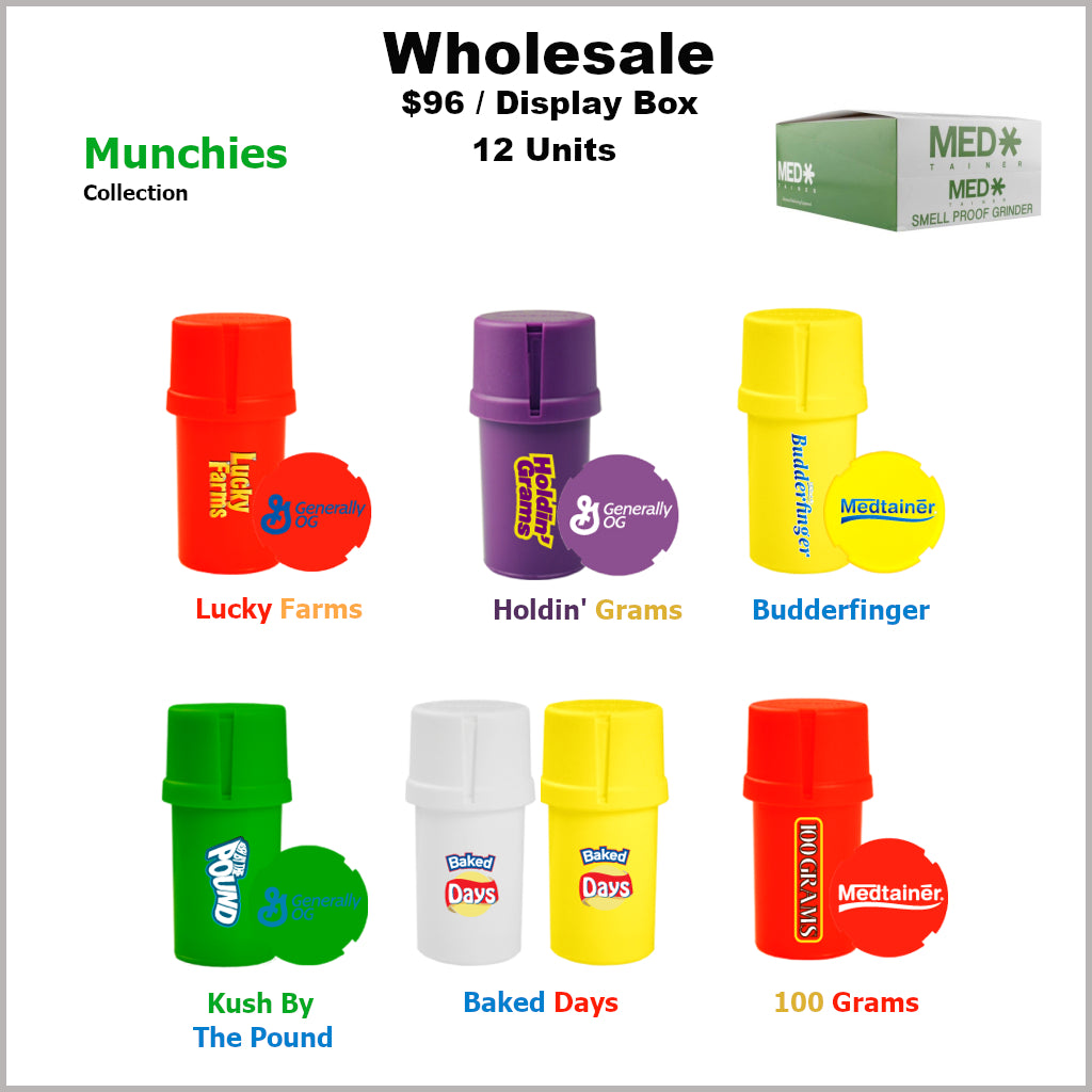 Medtainers Premium- Munchies Collection (12 Units)