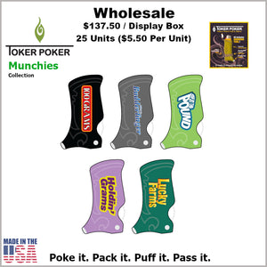 Toker Pokers- Munchies Collection (25 Units)