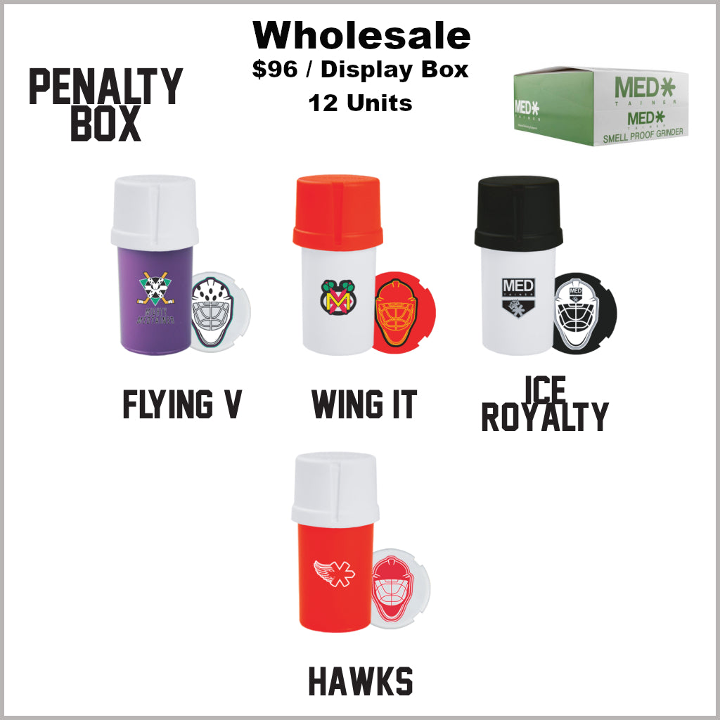 Medtainers Premium- Penalty Box Collection (12 Units)