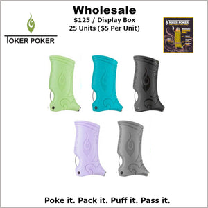 Toker Pokers- Plain Assorted Colors (25 Units)