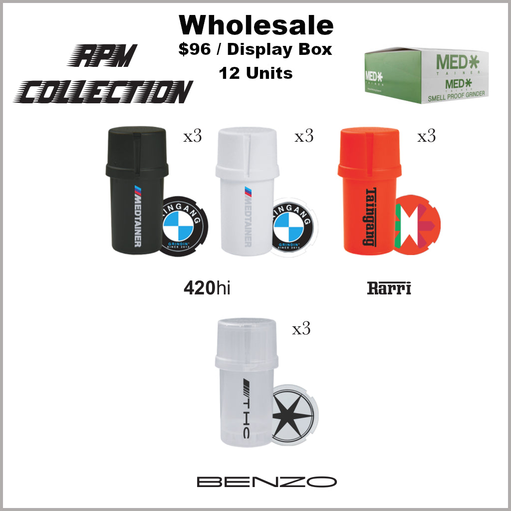 Medtainers- RPM Collection (12 Units)