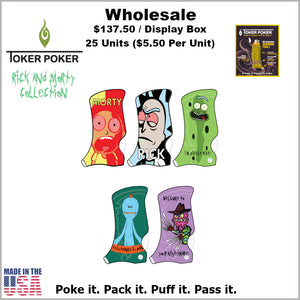 Toker Pokers-Rick & Morty Collection (25 Units)