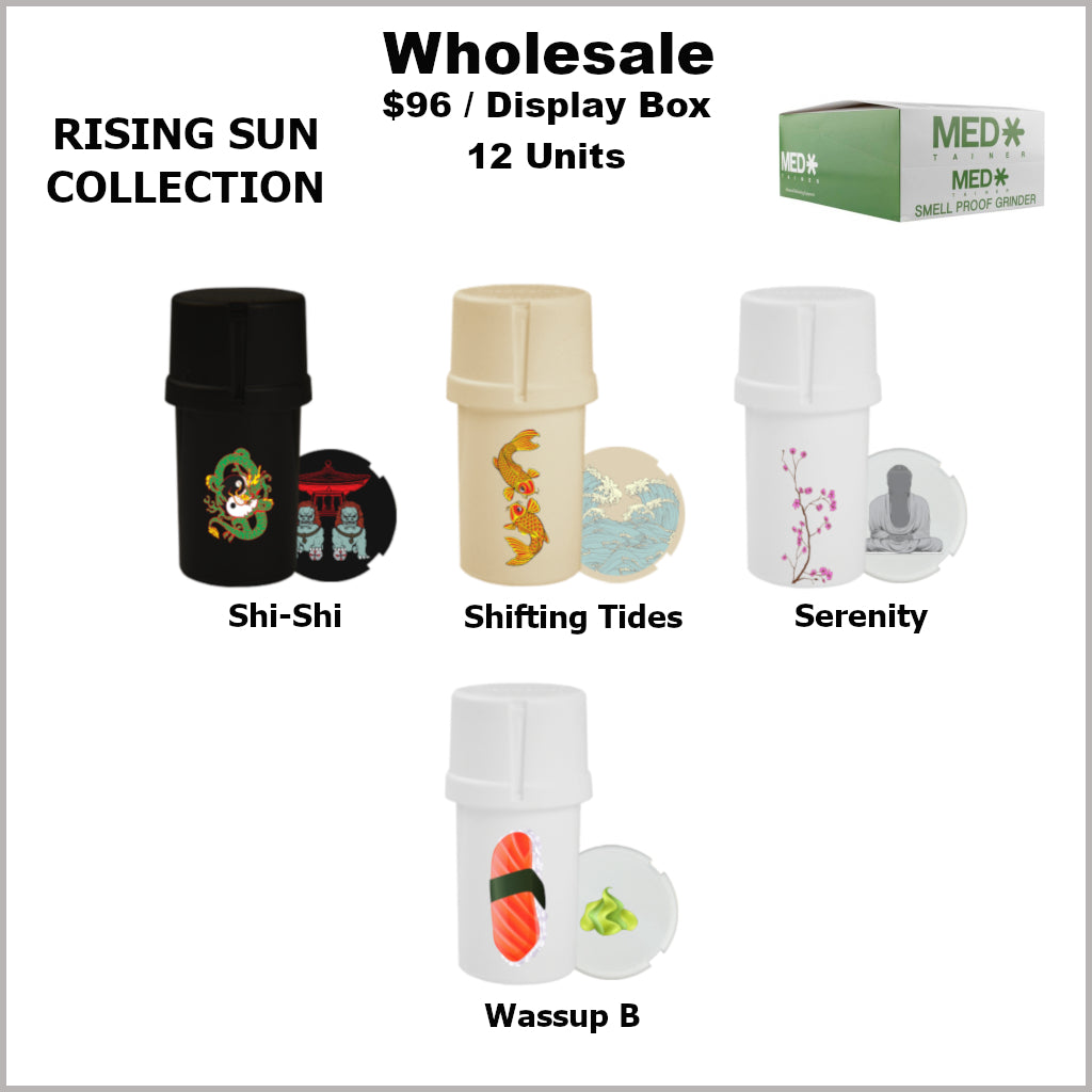 Medtainers- Rising Sun Collection (12 Units)