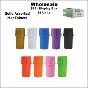 Medtainers- Plain Assorted Solids Only (12 Units)