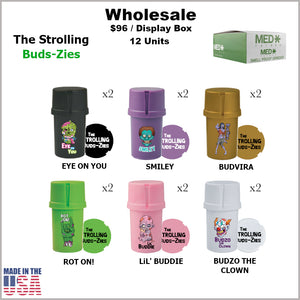 Medtainers- Strolling Buds-Zies Collection (12 Units)