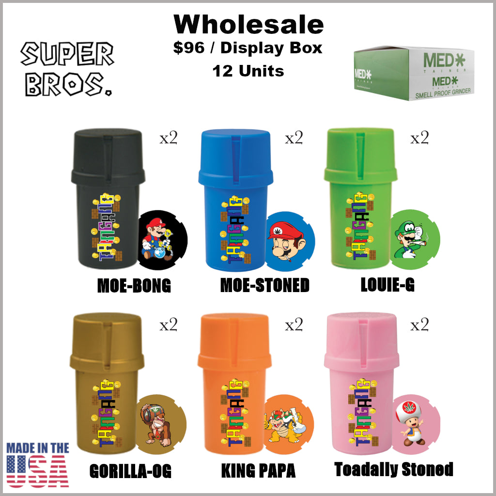 Medtainers- Super Bros Collection (12 Units)