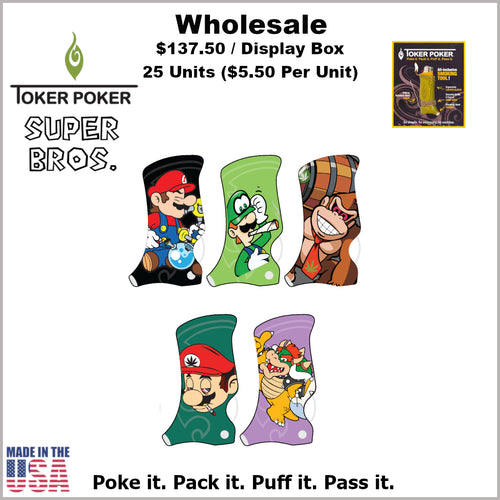 Toker Pokers- Super Bros Collection (25 Units)