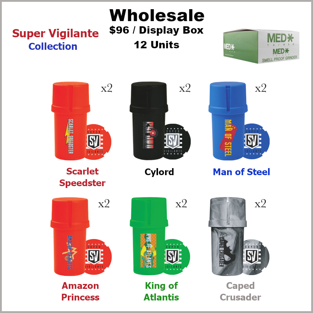 Medtainers- Super Vigilante Collection (12 Units)