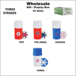 Medtainers- Three Strikes Collection (12 Units)