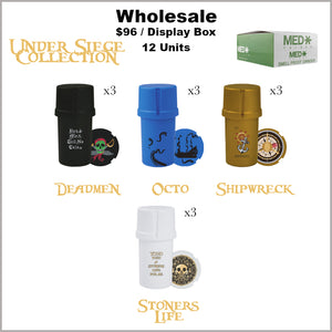 Medtainers- Under Siege Collection (12 Units)