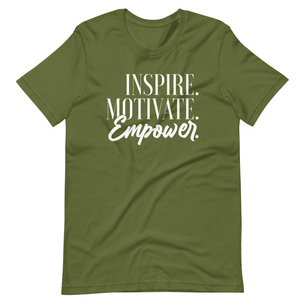 Inspire Motivate Empower Short-Sleeve T-Shirt