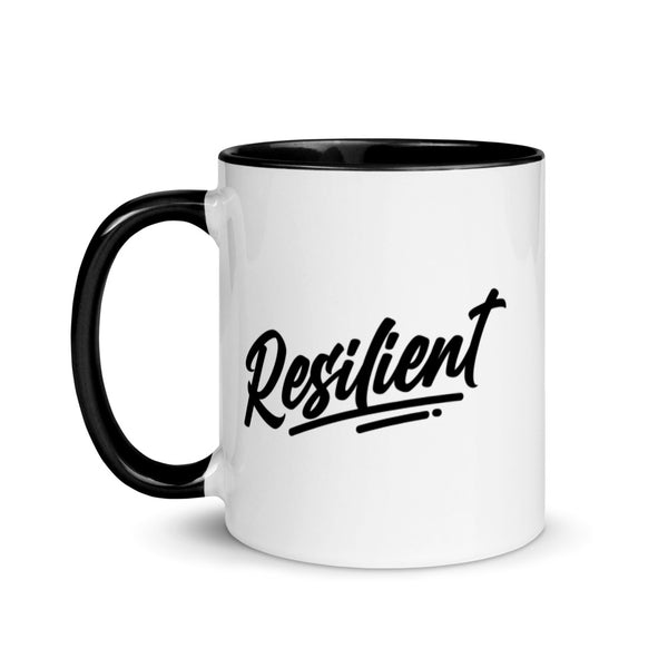 Resilient Mug with Black inside, rim and handle